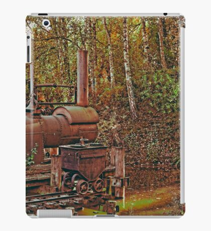 Machine from another time iPad Case/Skin