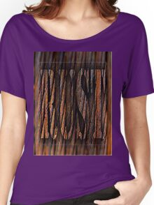 Rust Women's Relaxed Fit T-Shirt