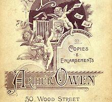 Edwardian Cabinet Card by Kawka