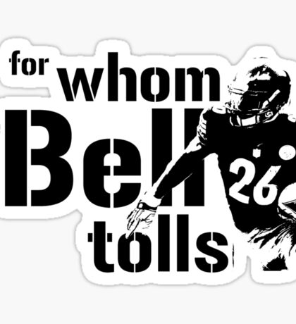 For Whom the Bell Tolls Sticker