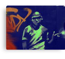 graffiti boy Canvas Print