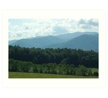 From Cades Cove Art Print