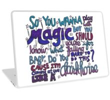 Dark Horse Lyric Art Laptop Skin