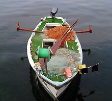 Little Fishing Boat by Paolo De Vincentis