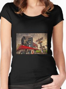 Harley Davidson Cafe  Women's Fitted Scoop T-Shirt