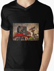 Harley Davidson Cafe  Mens V-Neck T-Shirt