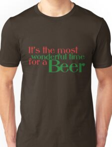 Funny Christmas Beer Parody Unisex T-Shirt