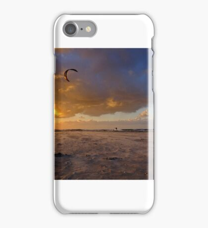 Kite surfer iPhone Case/Skin