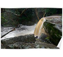 Upper Somersby Falls 5 Poster