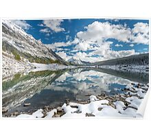 Medicine Lake Reflections Poster