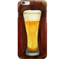 Beer in Glass iPhone Case/Skin