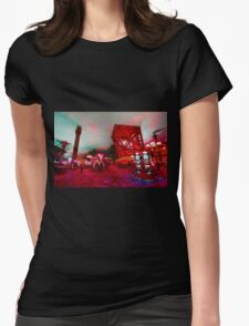 Casino Abstract  Womens Fitted T-Shirt