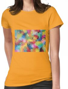 """In a Dream No.3"" original abstract artwork by Laura Tozer Womens Fitted T-Shirt"