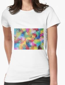 """""""In a Dream No.3"""" original abstract artwork by Laura Tozer Womens Fitted T-Shirt"""