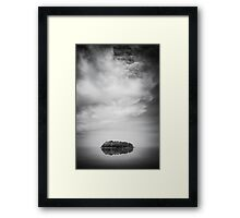 The vessel Framed Print