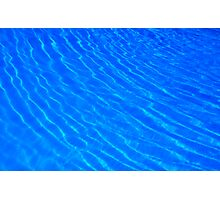 Water in a swimming pool Photographic Print
