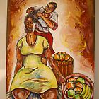 braiding in the afternoon by ronald muchatuta