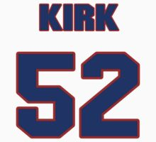 National football player Randy Kirk jersey 52 by imsport