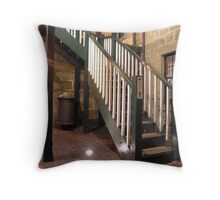 stairs to relieve ur pears Throw Pillow