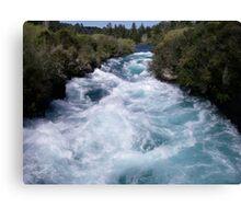 Huka Falls, Taupo Canvas Print