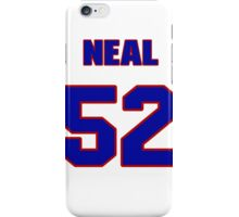 National football player Dan Neal jersey 52 iPhone Case/Skin