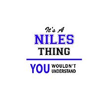 It's a NILES thing, you wouldn't understand !! by thestarmaker