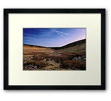 Moor & Sky Framed Print
