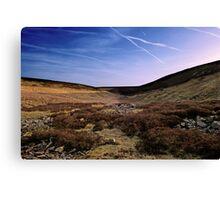 Moor & Sky Canvas Print