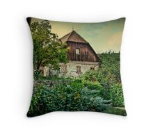 And I'll watch my garden grow Throw Pillow