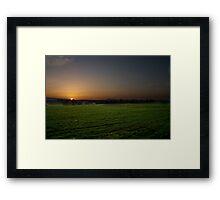Cloudside Sunrise Framed Print