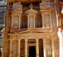 Petra the Red City by hilarydougill
