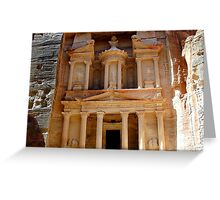 Petra the Red City Greeting Card