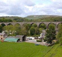 Viaduct at Ingleton by Peter Reid