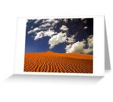 Dune Bird Greeting Card