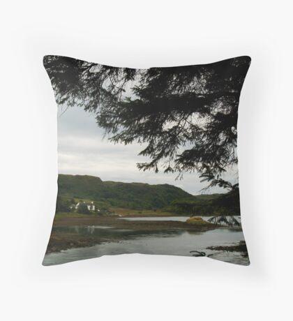 Clachan Sound Throw Pillow