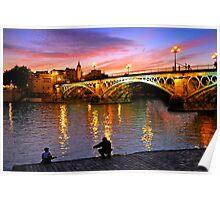 Sevilla Fishing Poster