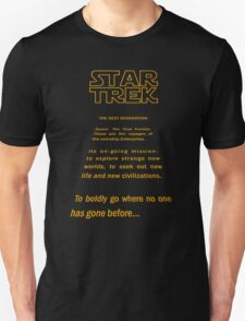 Star Trek Crawl - Next Generation T-Shirt
