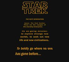 Star Trek Crawl - Next Generation Unisex T-Shirt