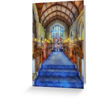 Church at Christmas Greeting Card