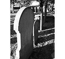 Quiet as the grave Photographic Print