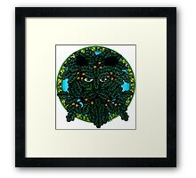 the green man (Mighty Oak) Framed Print