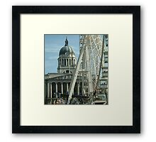 Market Square Framed Print