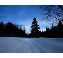NC   Once upon a winter Photographic Print