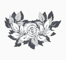 grey rose by VioDeSign