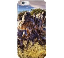 Rocky Outcrop at Sears-Kay Ruins iPhone Case/Skin