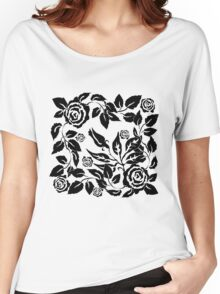 black roses Women's Relaxed Fit T-Shirt