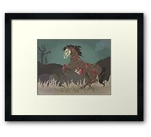 Undead Nightmare Framed Print