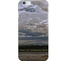 Winter Storm Pushes in Along Highway 16 iPhone Case/Skin