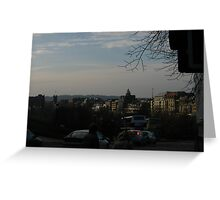Princes Street from the Mound Greeting Card