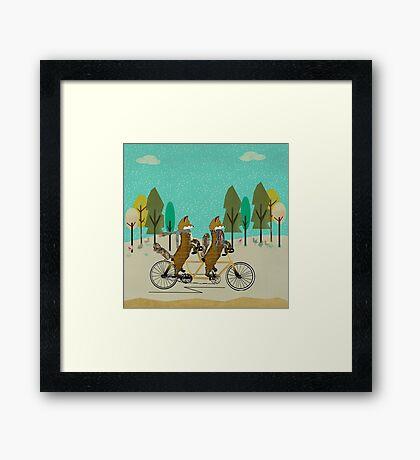 foxy days Framed Print